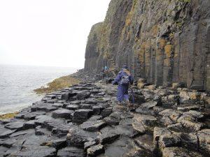 Staffa colonnes basaltiques