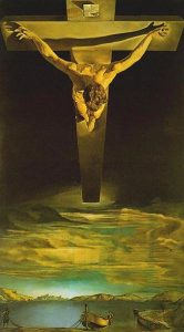 "Dali ""Christ of Saint John of the Cross"""