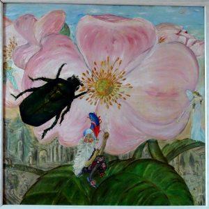 lutin au scarabée