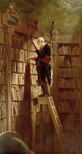 Carl Spitzweg-Bücherwurm