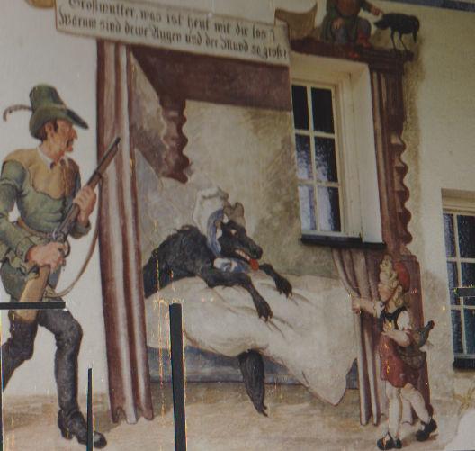 Oberammergau Rotkäppchen Haus