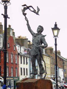 Dunbar statue du jeune John Muir
