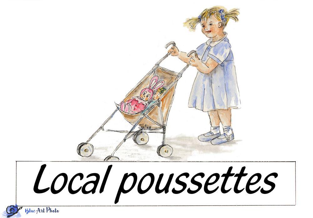 local poussettes