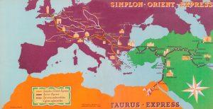 Réseau Simplon-Orient-Express en 1930-1931