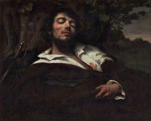 G.Courbet-L'homme blessé-Wikimédia