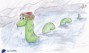 Nessie-carnet de voyage