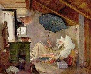 Carl Spitzweg-Le pauvre poète