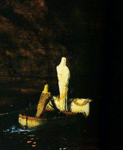 New-York - Détail l'Île des morts - 2ème version - 1880