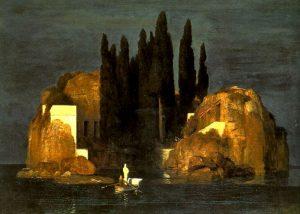 Bâle - L'Île des morts - 1ère version - 1880