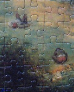 Détail puzzle-la tour de Babel