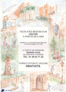 Vaccination- Mairie de Tremblay-en-France