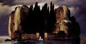 Leipzig - L'Île des morts - 5ème version - 1886