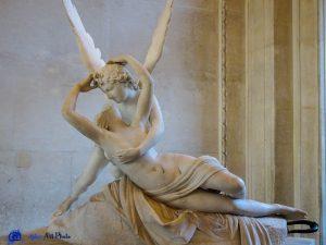 Psyché ranimée par le baiser de l'Amour - Antonio Canova - Musée du Louvre