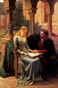 Edmund Blair Leighton-Abelard et Heloïse