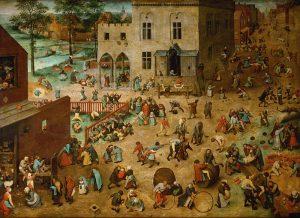 Bruegel l'Ancien - Jeu des enfants
