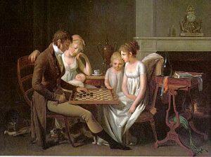 Louis léopold Boilly - jeu de Dames - source Wikimédia