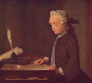 Jean-Baptiste Siméon Chardin - L'enfant au toton - Louvre - source Wikimédia -