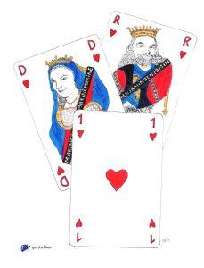 Dessin - jeu de cartes