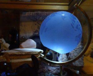 Globe terrestre - verre