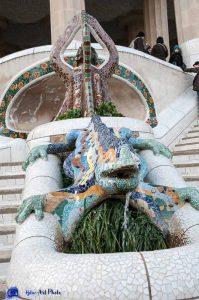 Barcelone - Gaudi - Parc Güell
