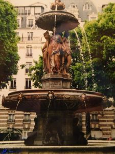 Paris -Fontaine Louvois