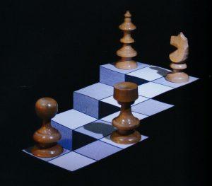 Le chemin vers le haut - Erik Minnema - source livre l'Art de l'illusion