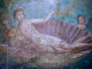 Vénus - maison de Vénus Pompei- Musée archéologique - Naples