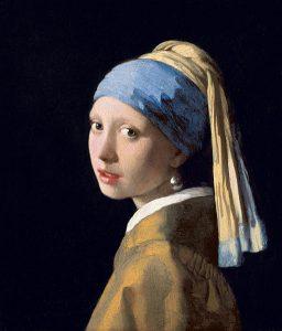 La jeune fille à la perle - j. Veermer