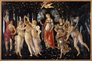 Boticelli - Printemps - source Wikipédia