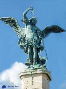 Castel San Angelo - Rome - Archange Michel