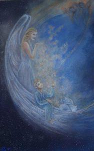 4èmes panneaux de portes - Anges-Cosmos