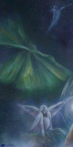 1ers panneaux de portes - Anges-Cosmos