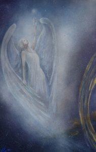 3èmes panneaux de portes - Anges-Cosmos