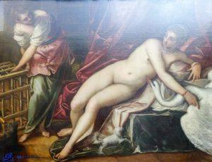 Leda - Florence - Galeria Degli Uffizi