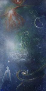 2èmes panneaux de portes - Anges-Cosmos