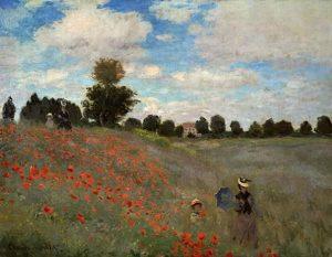 Claude Monet - Les Coquelicots - Musée d' Orsay - source grandspeintres.com