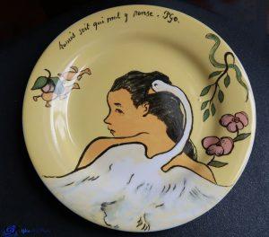 Léda - d'après Gauguin