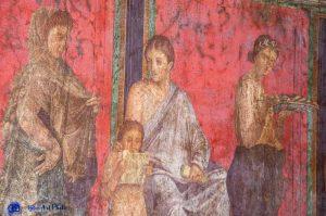 Pompéi - villa des mystères