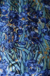 Foulard - Iris de Van Gogh