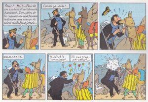 BD - Tintin et le temple du soleil