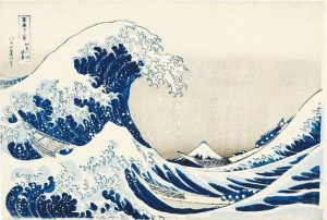 Hokusai - The Great Wave off Kanagawa- Honolulu Museum of Art - source wikimedia