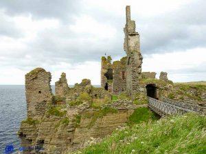 Girnigoe Sinclair castle - Ecosse