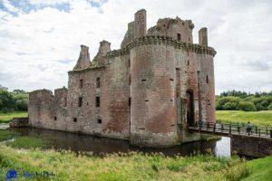 Caerlaverock castle - Ecosse