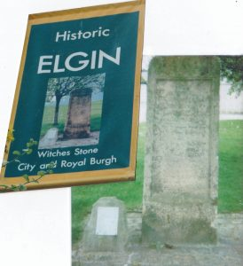 Elgin - Witches stone