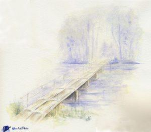 Un Art de Vie - Passerelle - Breuchin - Moulin de Ste Marie en Chanois