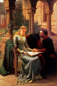 Abelard and his pupil Heloise - Source Pinterest
