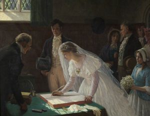 The Wedding Register - Source Wikimédia