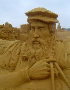 Sculpture de sable - Source Espacebuzz.com