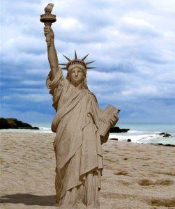 Scuplture de sable - Source lechemindel-un
