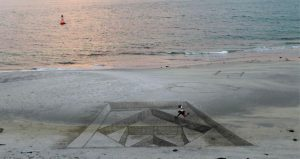 Beach Art - Source cnewsmatin.fr